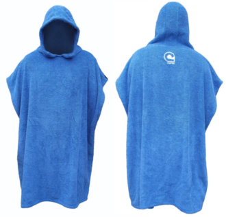 Youth Hooded Poncho Towel - Curve
