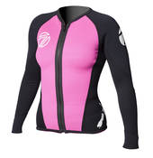 Titanium Front Zip Hot Top LS - Womens