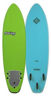 "6'6"" Softboard - Platino - Seventhwave Wetsuits"