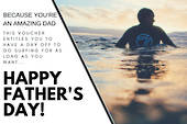 """Surf Day for Dad"" Voucher"