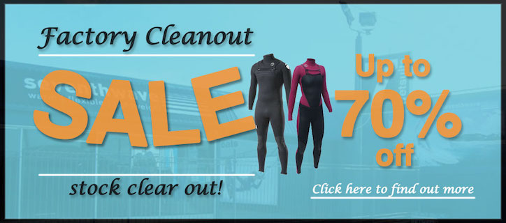 134e901d22 Seventhwave Wetsuits clearance sale items