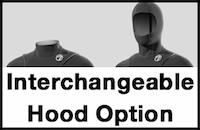 Interchangeable hood option