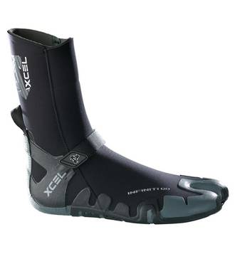 Xcel 3mm Infiniti Boots with free Clip'n Drip