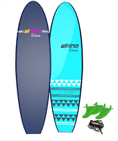 "Elnino 6'6"" Softboard - Cruiser or Diva RRP $329-Check out the crazy prices"